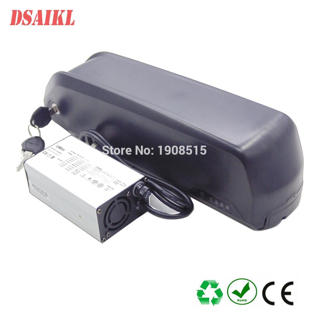 36Volt 500W Hailong Ebike Batterie 250W Jumbo Shark 36V 10.4Ah 11.6ah 12Ah 13Ah 14.5Ah 15Ah 17Ah 20Ah 24Ah mit Ladegerät