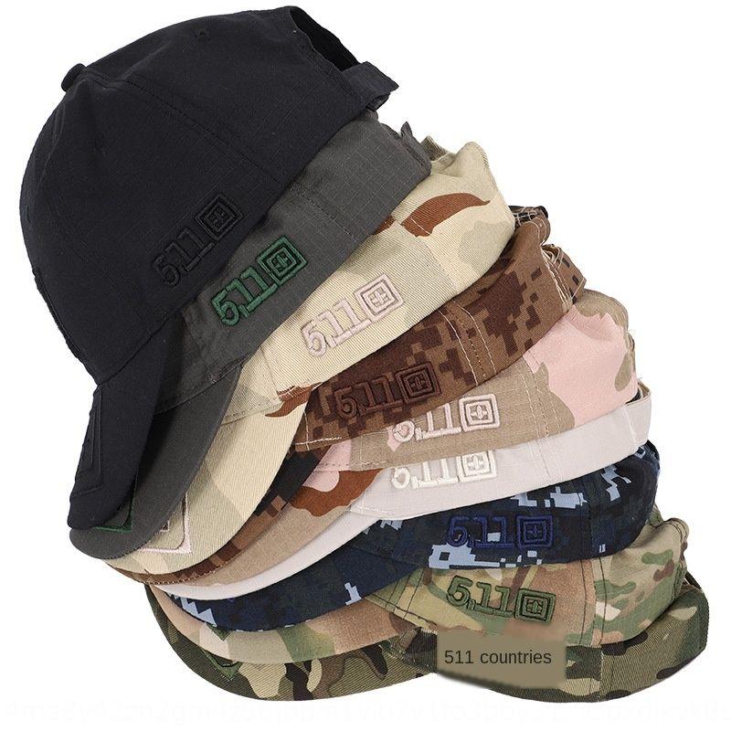 9 New 511 sgreen Tarnung im Freien taktische Dschungel Hüte Baseballmütze Baseballmütze 5.11 Haken und loopcaps