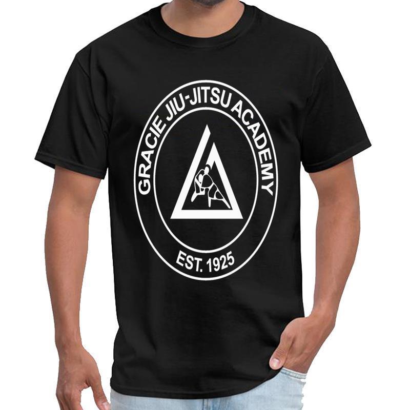 Progettazione Gracie Jiu Jitsu Academy maglietta homme homme SpaceX maglietta 3xl 4xl 5XL 6XL tee top