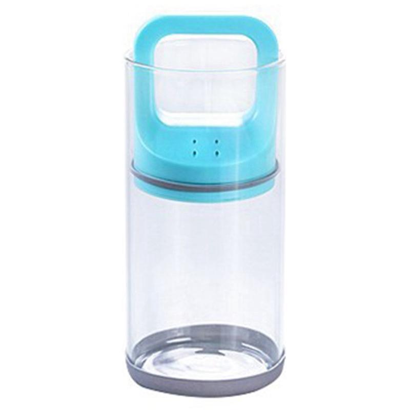 Tracté verre de stockage Bottlevacuum boîte scellée Creative résistant à la chaleur Divers Grains Réservoir de stockage Coupe Can