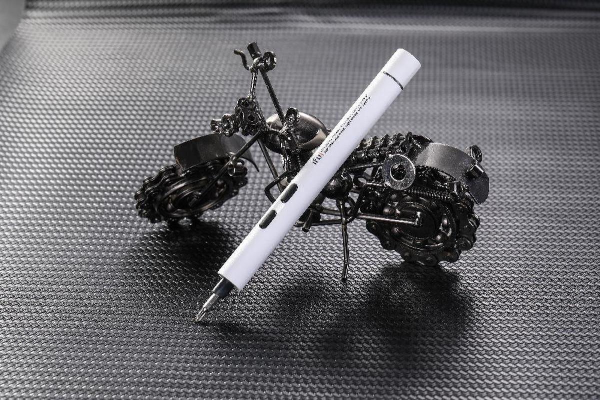 Elektrischer Schraubendreher mit Bits Mini Präzisionsladeschraubendreher für Mobiltelefon Laptop D2