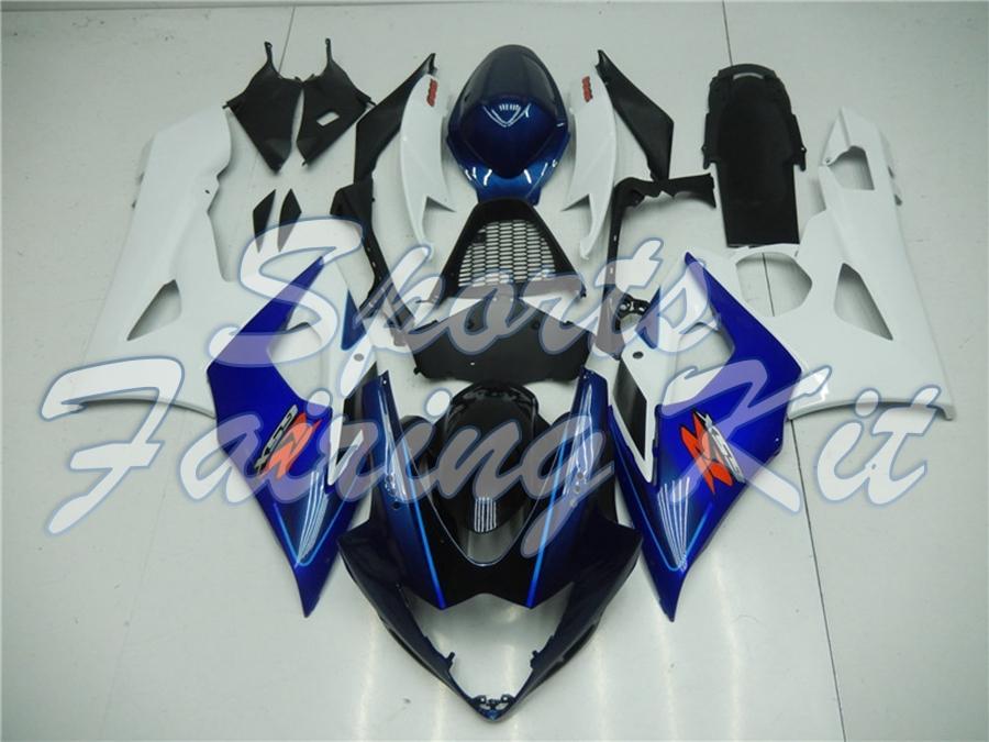 نفطة لGSXR 1000 2005 - 2006 K5 الهيئة أطقم GSXR1000 05 ABS هدية GSXR1000 06