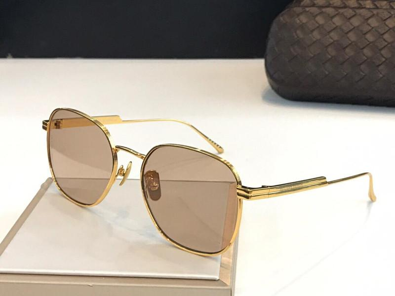 1014 Fashion nuovo progettista degli occhiali da sole Retro senza telaio Occhiali da sole vintage stile punk Eyewear superiore protezione UV400 con il caso 1014SK