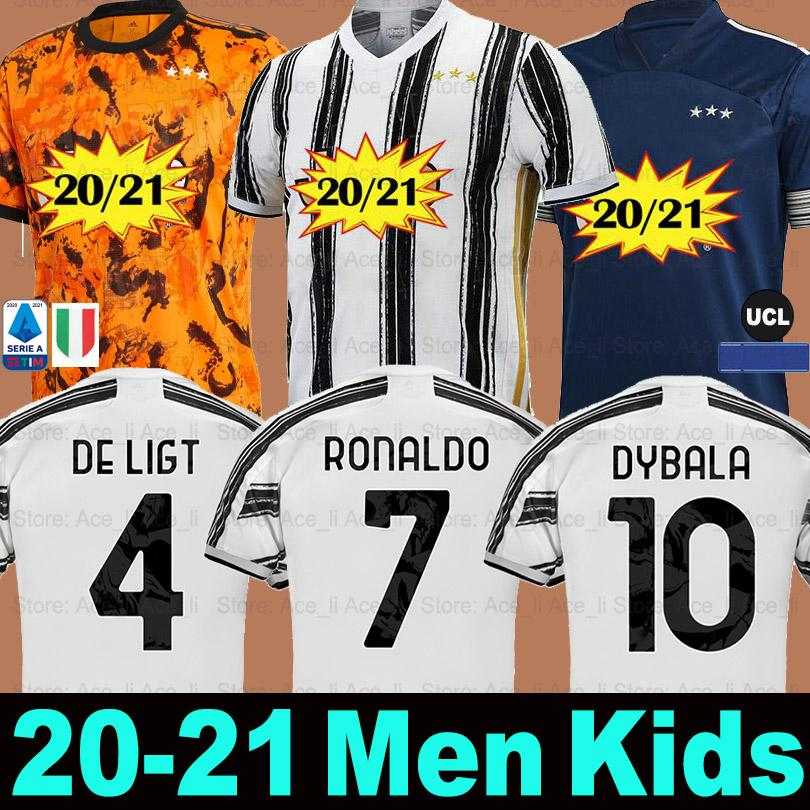 2020 Fans Player Juventus Soccer Jersey 2020 2021 Football Shirts 4th Ronaldo De Ligt 20 21 Dybala Ramsey Juve Third Away Men Kids Kit Uniforms From Ace Li 7 41 Dhgate Com