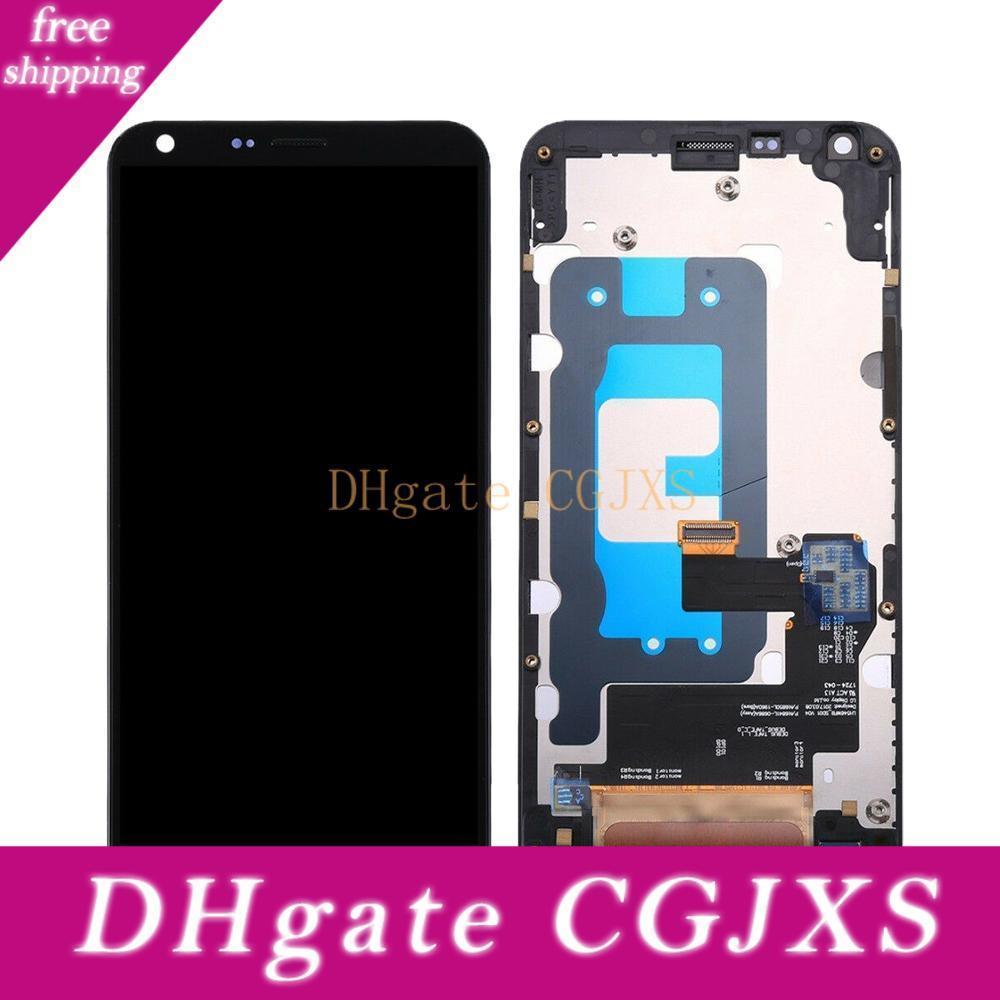10pcs für Lg Q6 LCD-M700 M700a Anzeigen-Screen-Analog-Digital-Rahmen mit LG Q6-Anzeigen-Reparatur Freien Verschiffen durch DHLEMS
