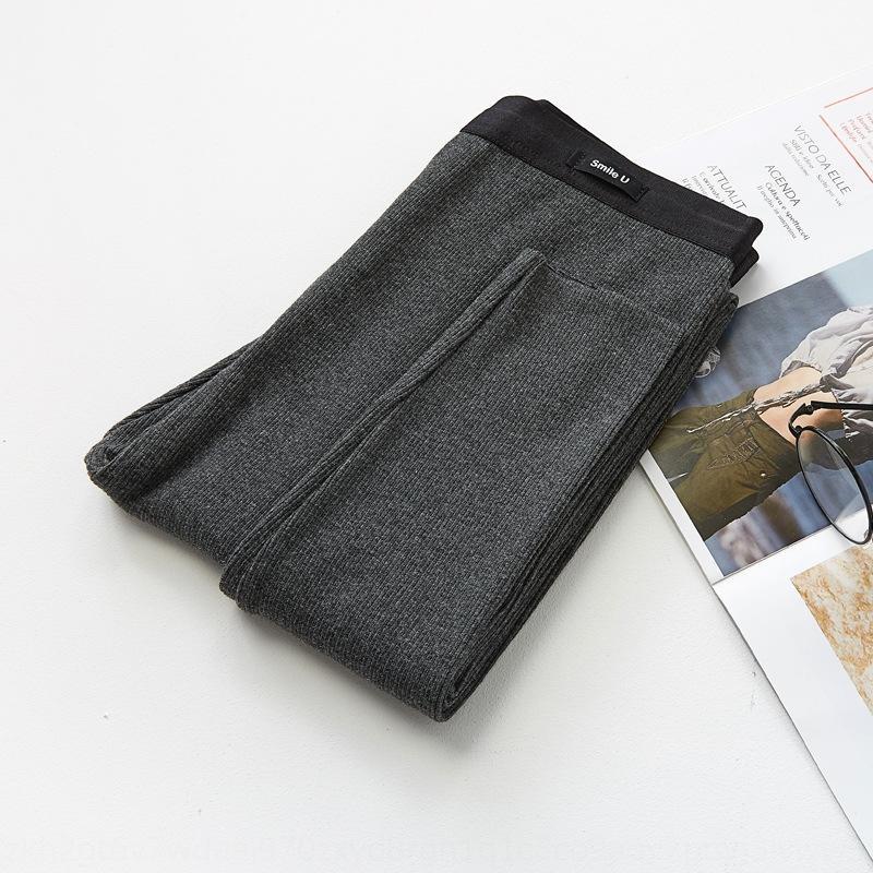 leggings verticali F0iQy 7aGl7 New Spring coreana cotone pantaloni stile caldo velluto esterno usura delle donne ispessite caldo tutto-fiammifero filo dimagrante °