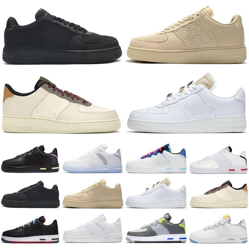 react 1 men women running shoes dunk fossil Light Bone White Black Red Smoke Grey USA outdoor mens womens trainers sports sneakers runners