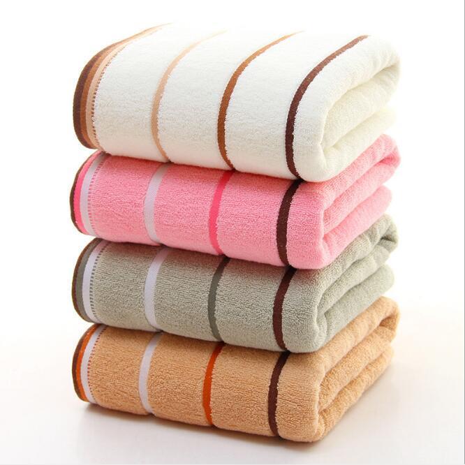 34x76cm striscia in puro cotone morbido asciugamano a casa casa assorbimento d'acqua giornaliero multi / viso / capelli tessili HA1136