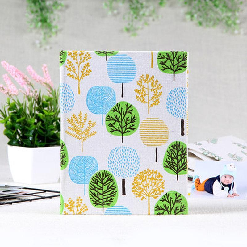 6 Inch Photo Album Tree Flower Cute Picture Storage Frame 100 Sheets Insert Page Album Children Lovers Wedding Memory Book Gifts