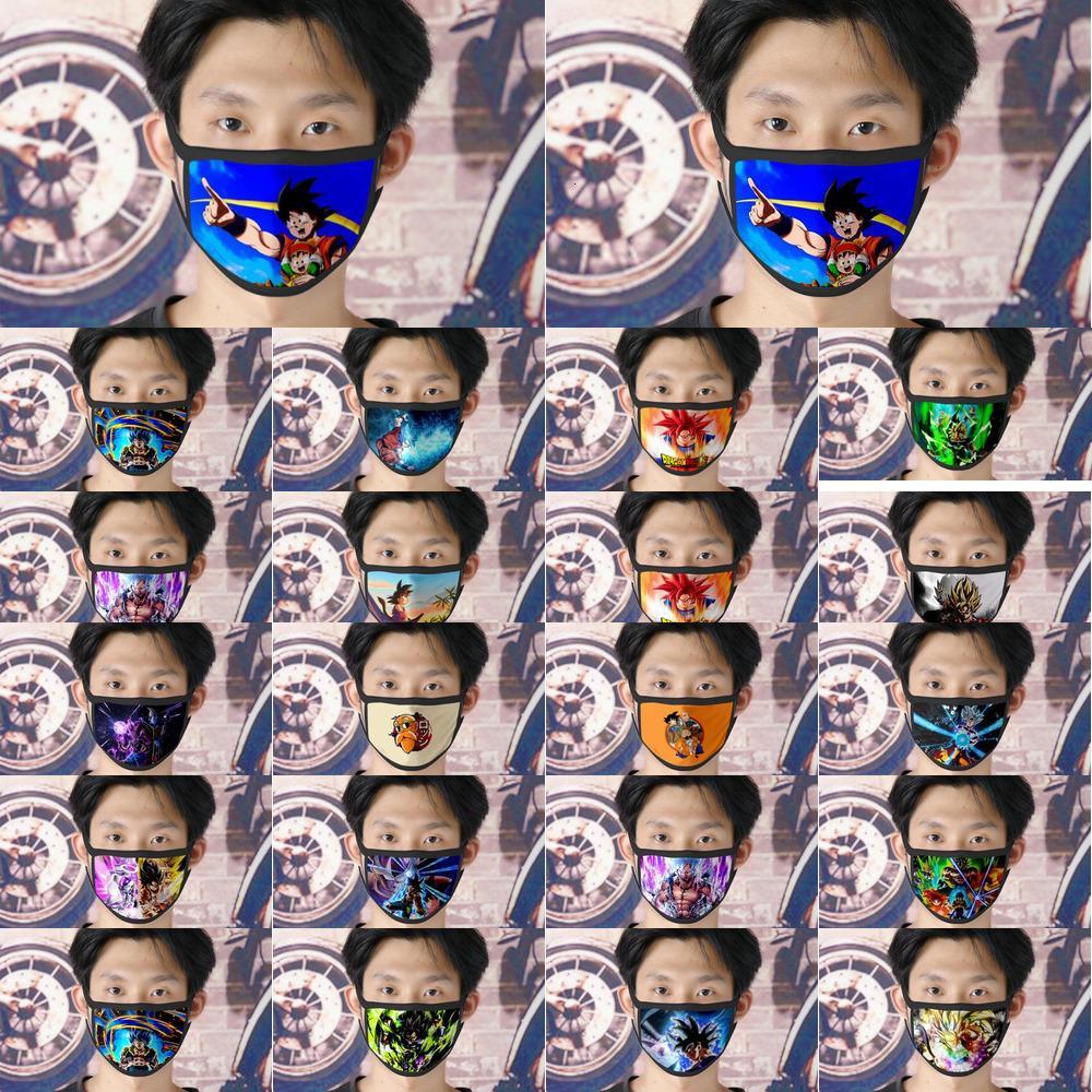 Yıkanabilir Goku Buz facemasks DHL Cubrebocas Ücretsiz İpek Hyyyo için Kadınlar Tapaboca Kargo Yüz çift-katlı Tissu'da Yeniden kullanılabilir Maske 0620 Maske