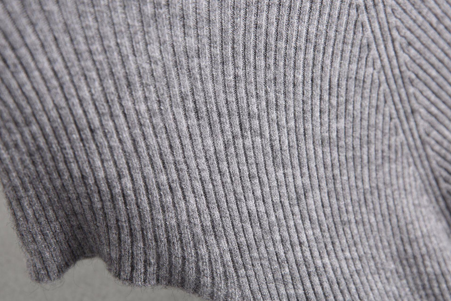 ibijq nova Jia Zhi mangas 8-625 queda 2020 xCGdq fina malha de malha T-shirt T-shirt das mulheres das mulheres vestuário all-jogo
