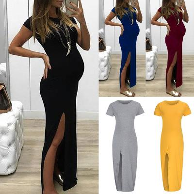 Summer Long Pregnant Mother Dress Maternity Photography Props Women Pregnancy Clothes Dress For Pregnant Photo Shoot Clothing