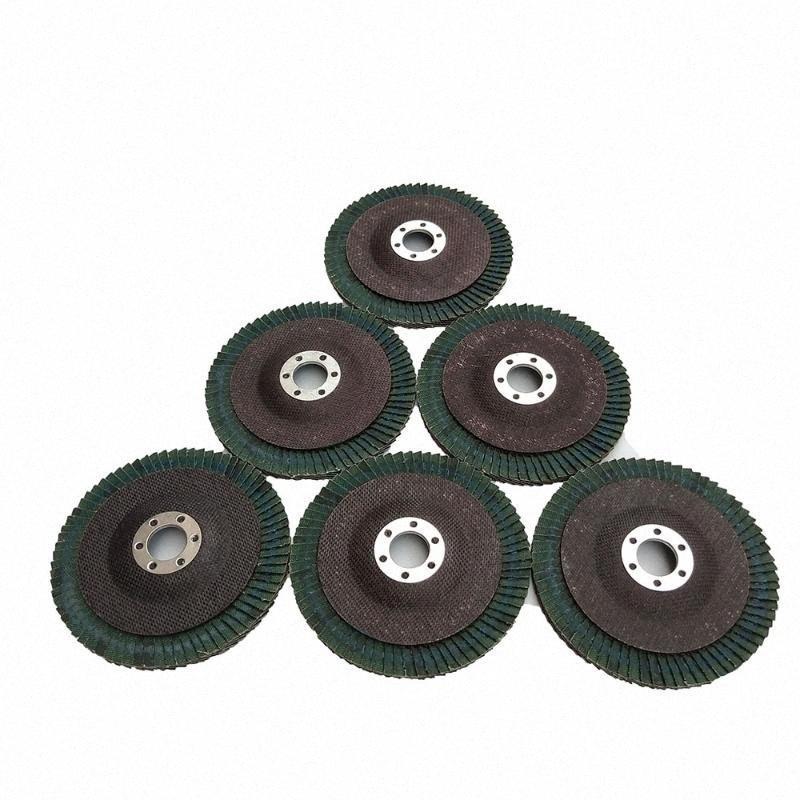 New 10PSC 100mm 40-320 Grit Meules Disques à lamelles pour meuleuses Abrasif outil de polissage Ponçage Meule # Etoo