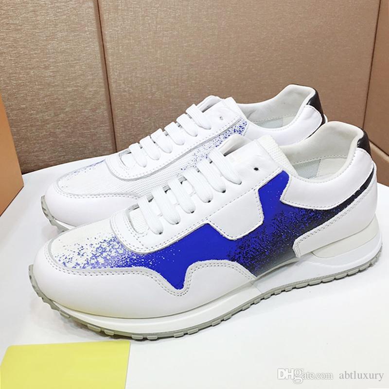Высокое качество Run Away тапки Мужская обувь Мода Дизайн нового прибытия марочные обувь Low Top Lace-Up Мужская обувь Zapatos De Moda Para Ho