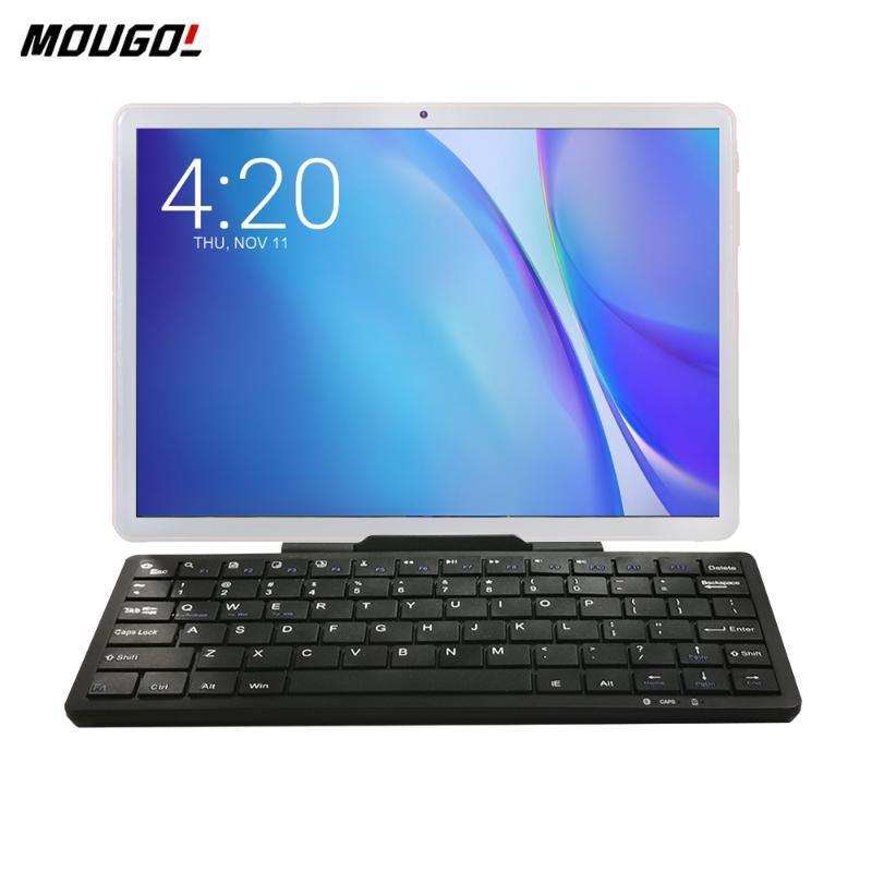 New 10 polegadas Tablet Android 9.0 3G Phone Call Tablet PC WiFi Tablets GPS Netflix Youtube HD WebCam Pad 2GB RAM + teclado
