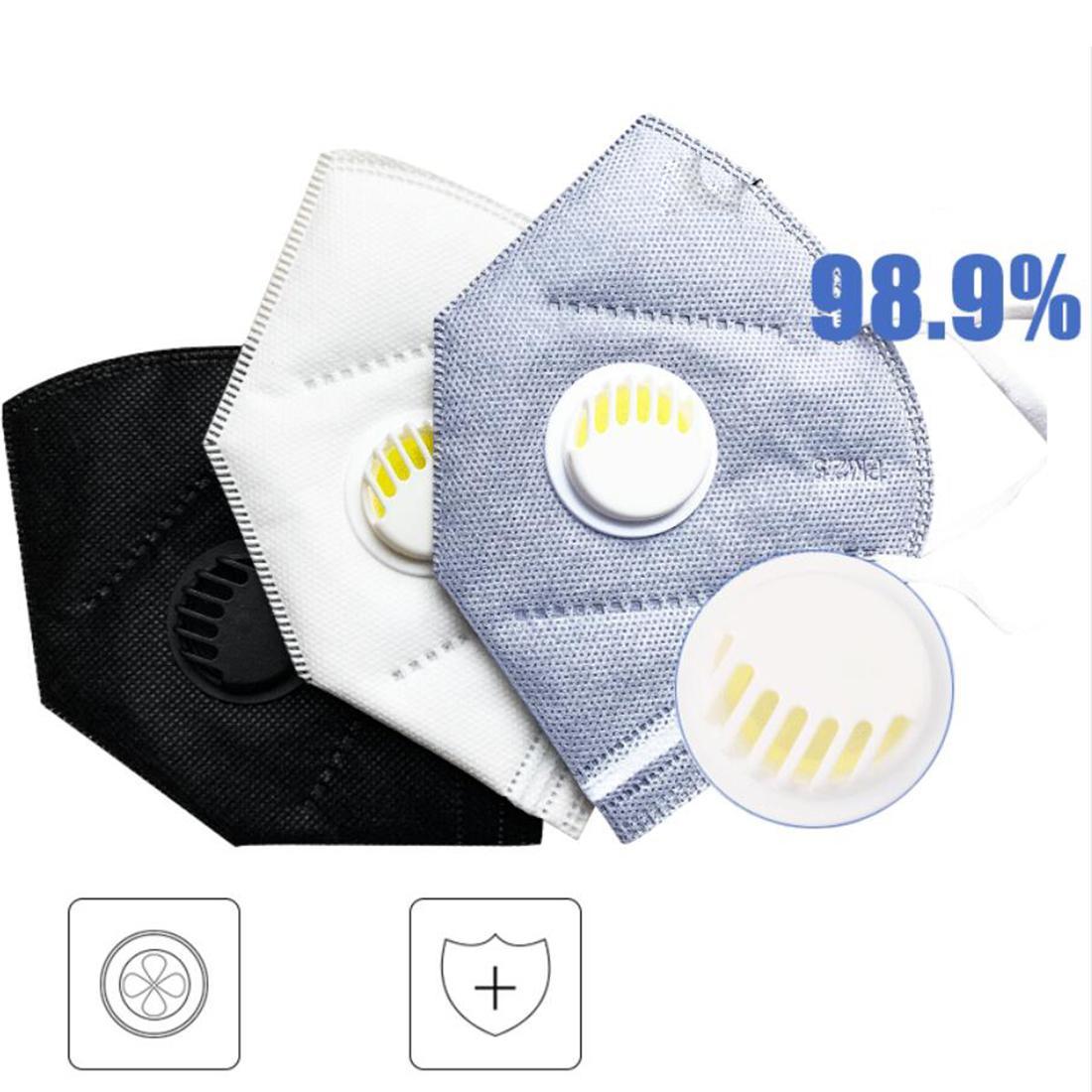 KN95GREY Black Active Белые респираторные маски Многоразовые маски для лица Mascherine Maskara Masque Masques Masks Защитите здоровье вашей семейной маски