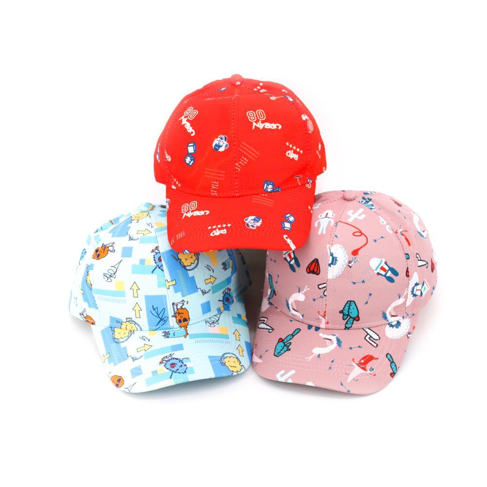 Toptan Düz Boya Sport Hat Casquette Custom 5 Paneli Beyzbol şapkası İçin Çocuk Ve Genç ile Oem Servisi