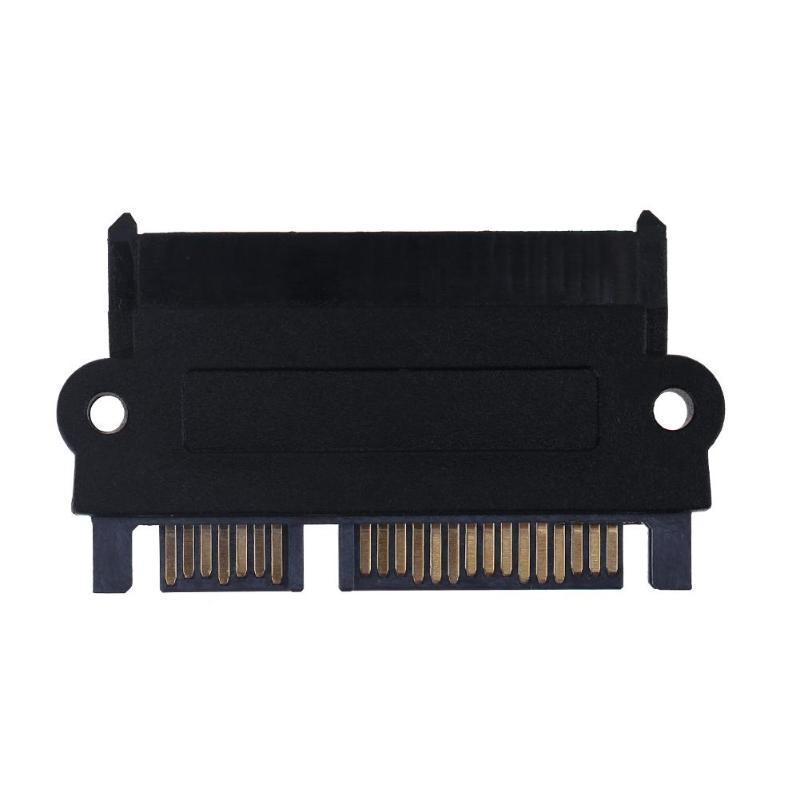 5Gbps SFF 8482 SAS на SATA 180 градусов угол адаптер конвертер прямой Head