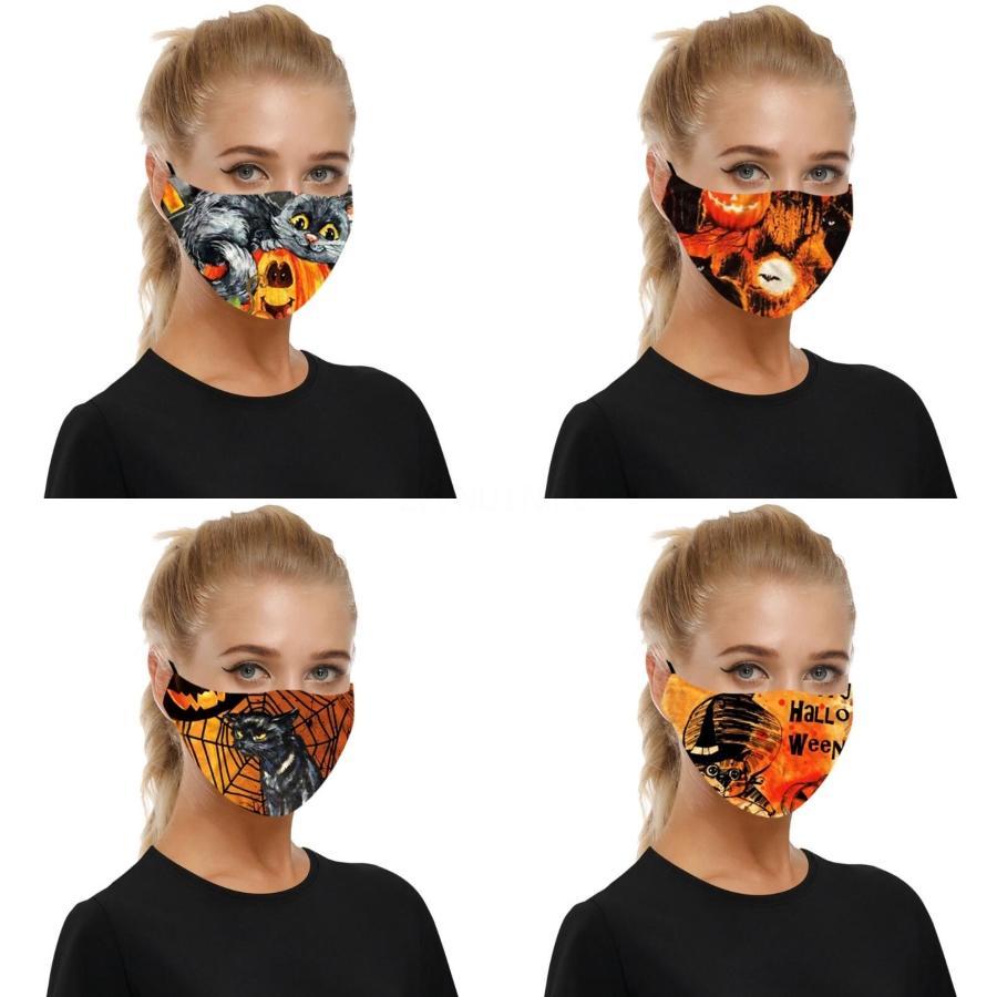 Impression 3D Masque 36 Types Designs Crâne Imprimé protection réutilisable lavable bouche couverture élastique Earloop adultes Homme femmes Masque # 685