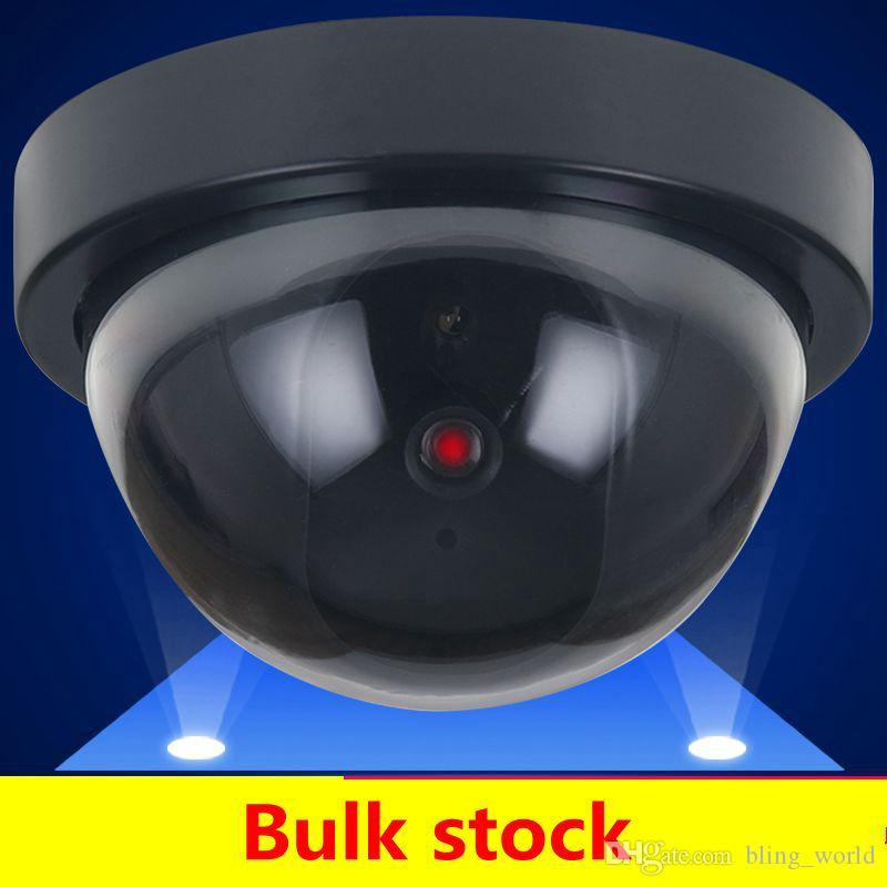 가짜 더미 카메라 시뮬레이션 보안 비디오 CCTV 감시 가짜 더미 IR LED 돔 카메라 신호 발생기 산타 보안 FWE835 공급