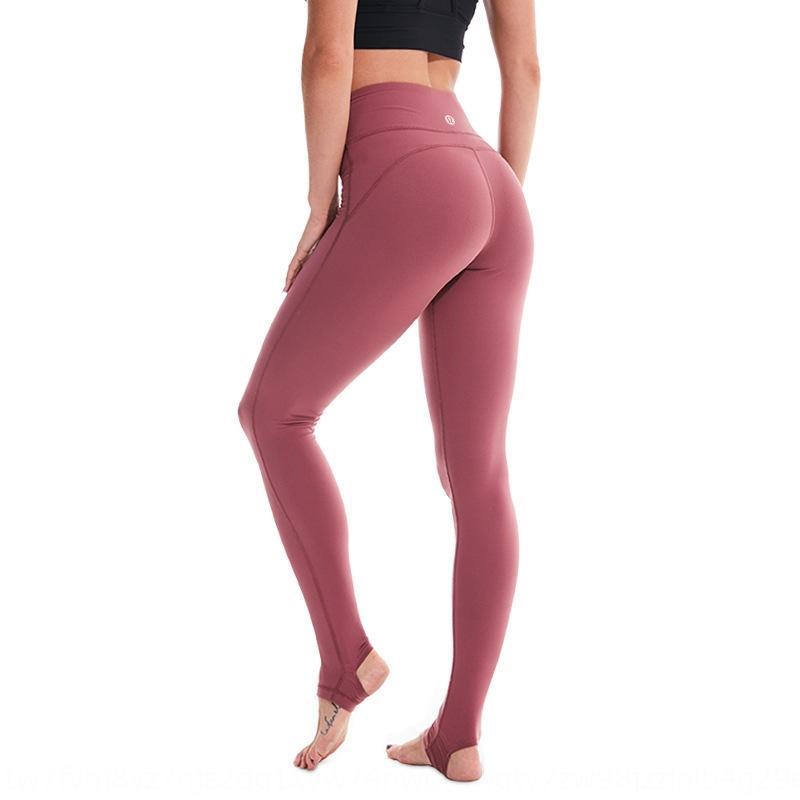 neue Frauen feste Yogahosen hohe elastische Formschlankheits Leggins Sport-Fitness-Yogahosen laufen
