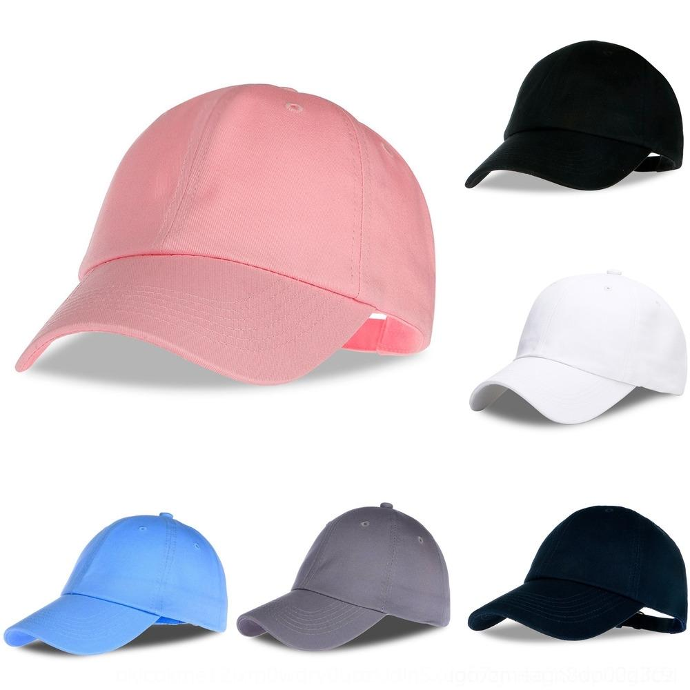 Иностранный сплошного цвет света пластины чистого бейсбола хлопок бейсболка шапка мода простой шляпа yHFhQ