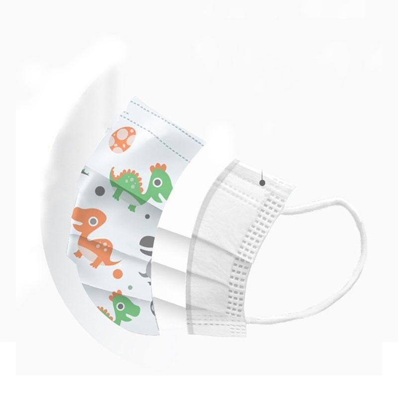 Máscaras Máscaras EARLOOPS Inicio transpirable a prueba de polvo al aire libre 3 de la cara de los niños grueso desechable cómodo salón Máscara capas con home2009 XjmBW