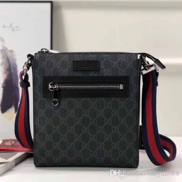Men zipper saco quadrado crossbody clássico da moda couro Super star impresso Mini tarja embreagem bolsas sacos para homens de negócios de alta qualidade