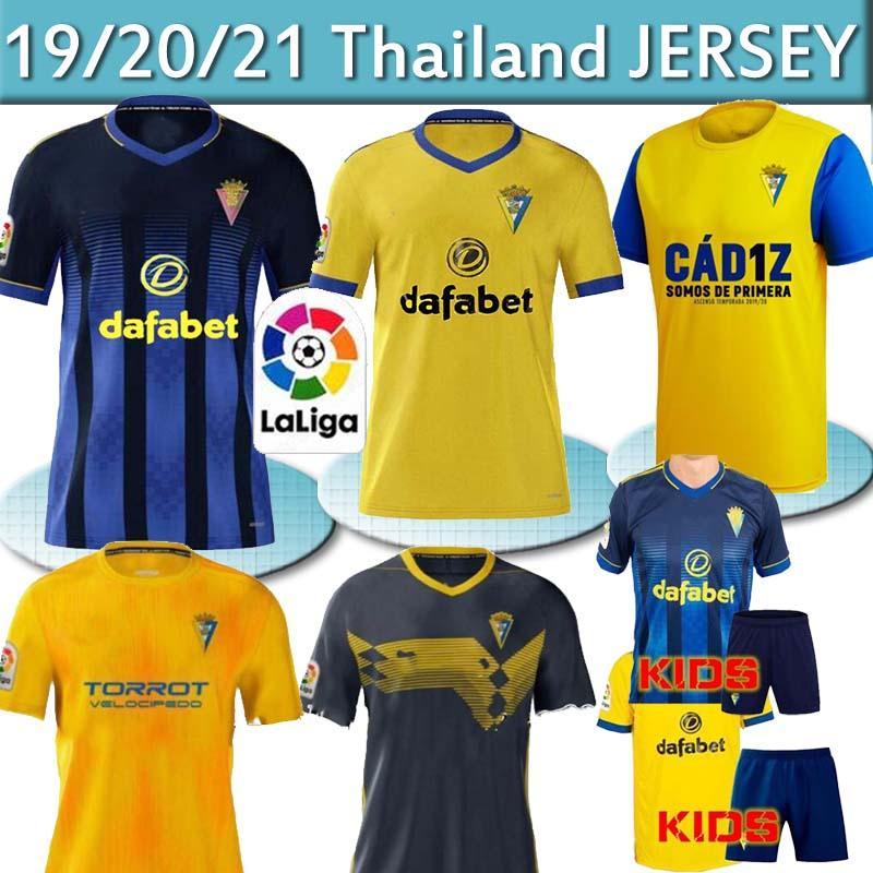 تايلاند كاديز كرة القدم بالقميص المنزل بعيدا 19 20 21 camisetas دي فوتبول فرنانديز يوفانوفيتش كارمونا KIDS الطفل JERSEY قميص كرة القدم 2019 2020