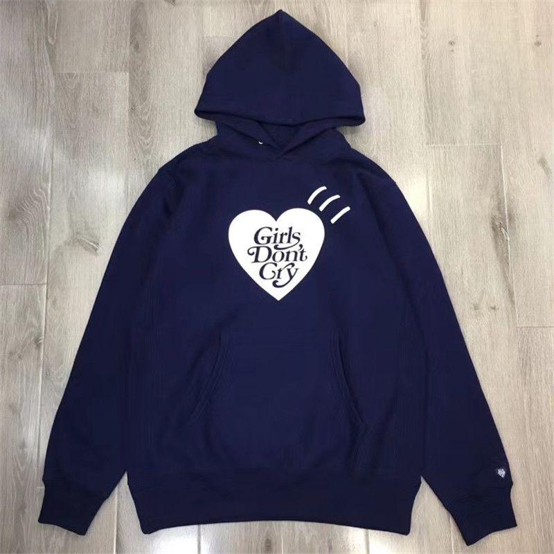 Dicker Mensch gemacht Mädchen Dont Cry Hoodie Männer Frauen Top-Qualität Sweatshirts menschliche Pullover xxxtentacion gemacht