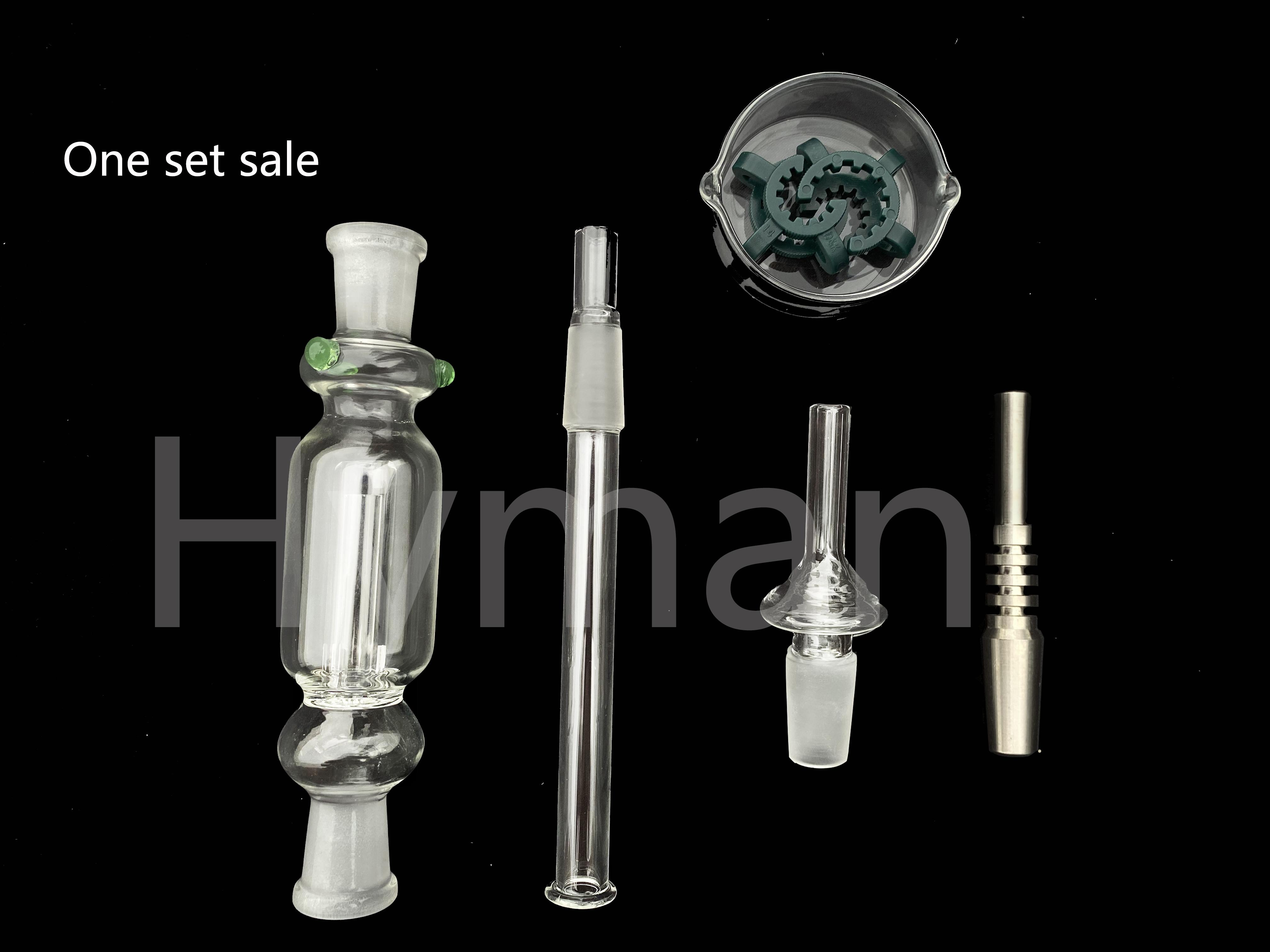 Verre Nectar Collecteur Kit Hookah 10mm 14mm Quartz Domeless Titanium Tip Straw DAB BONG HoneyBird Accessoires ACCESSOIRES D'ALIMENTATION