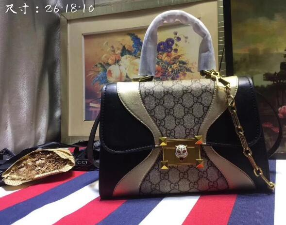 Yangzizhi New Studded Bouquet Pattern Army Green Leather Twist Medium Handbag M54240 Handbags Bags Top Handles Shoulder Bags Totes
