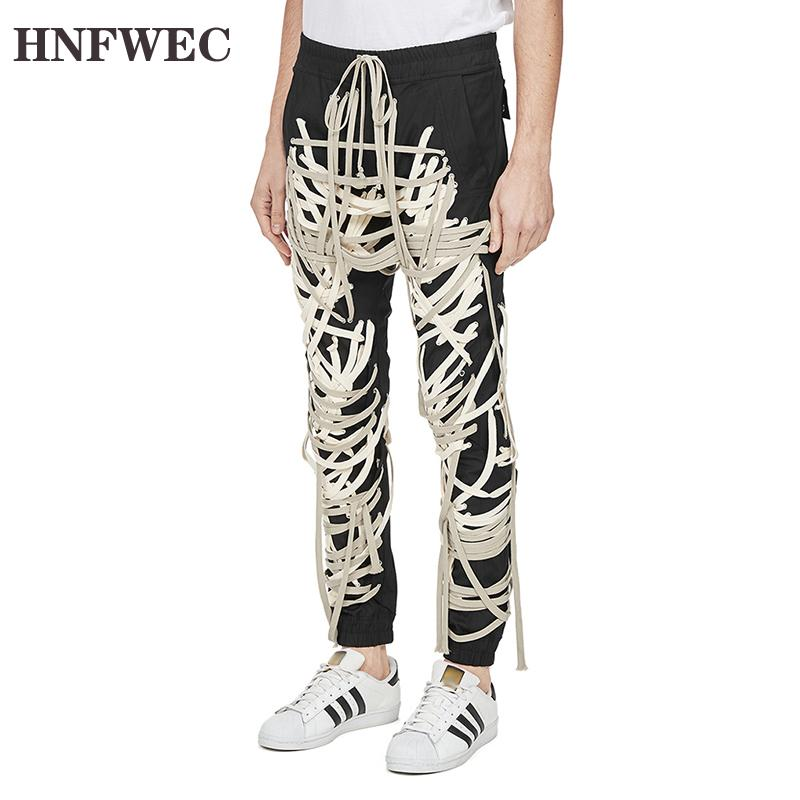 Lace Up Patchwork Casual Pants For Women High Waist Casual Bandage Slim Pants Female Fashion New Clothing 2020 Summer P820