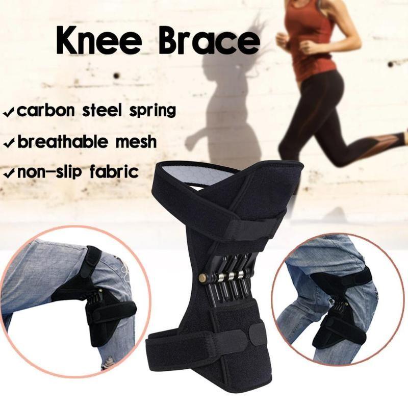 Joint support genouillères Respirant Non-Slip Power Lift articulation du genou Pads Rebond puissant Force du ressort jambe protecteur