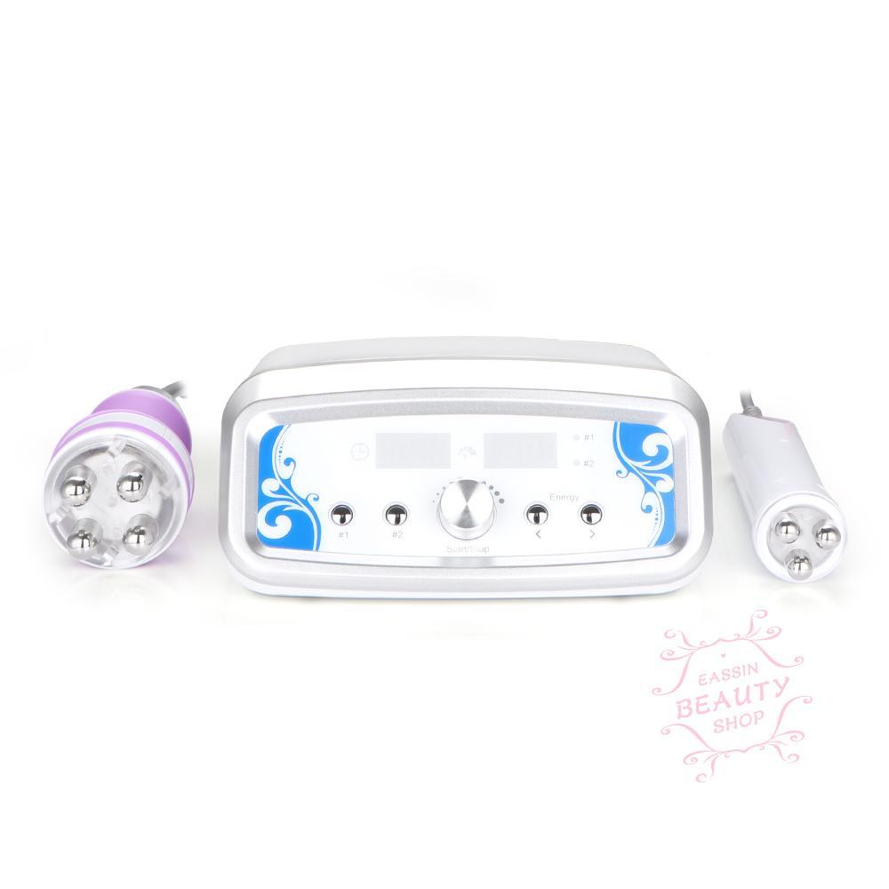 Mini 2 In1 Multipolar RF Radio Frequency Falten Massage Anti-Aging-Gesichtsstraffung Cellulite Entfernung Schönheit Maschine