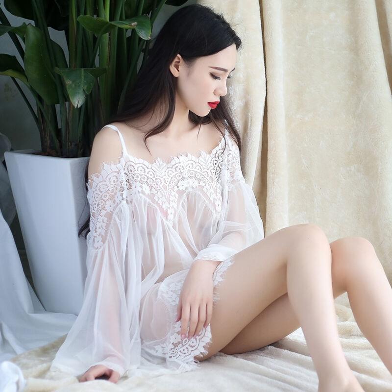 KN6QS sexy Braut konstante Versuchung der Frauen transparente Spitze Unterwäsche meshshoulder Spitze sexy Unterwäsche