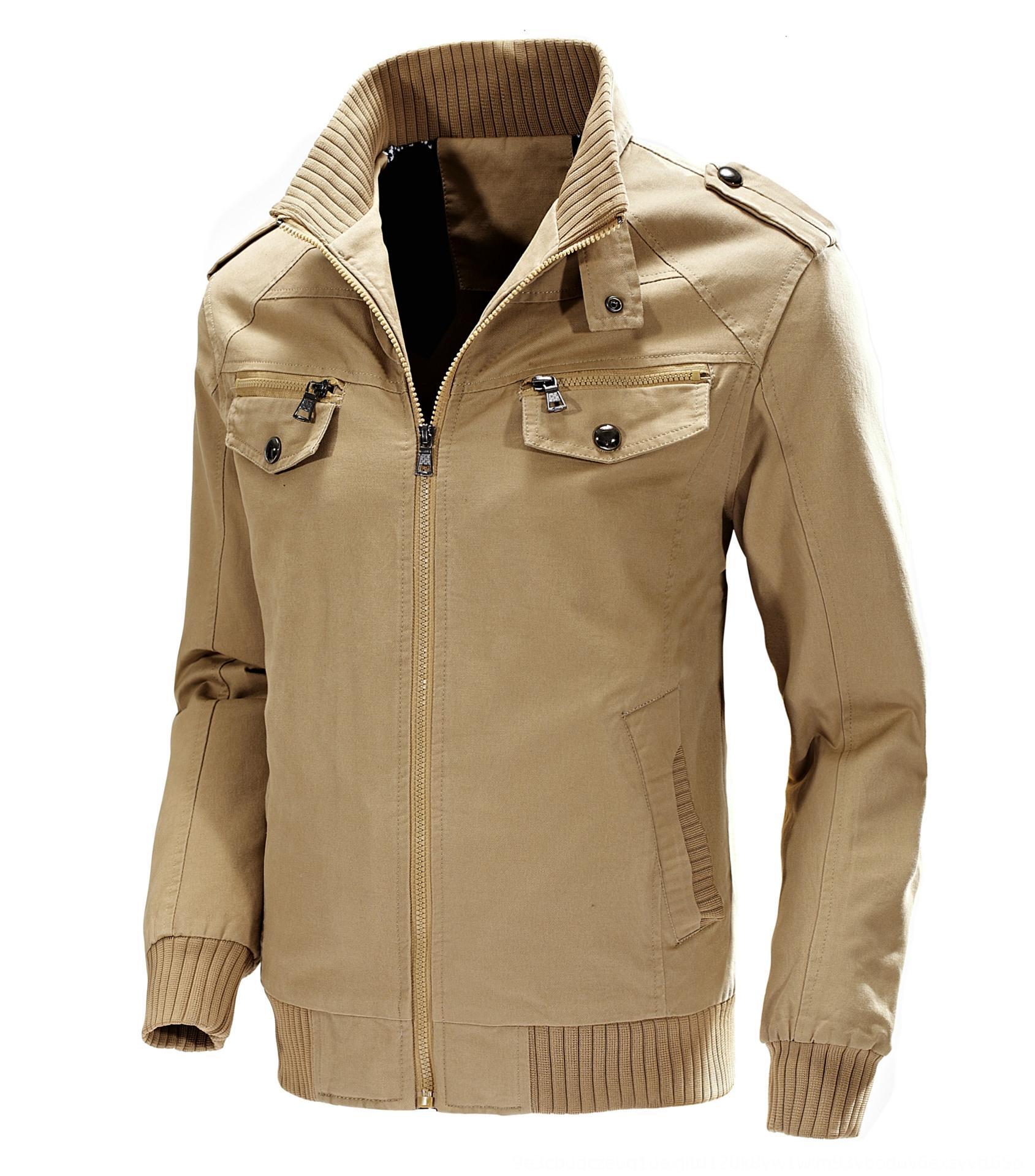 KOFPZ w2xUt осени и зима нового инструмент осень размера пальто хлопок размера вскользь и зимняя куртка нового мужского jackettooling случайных пальто большого лар