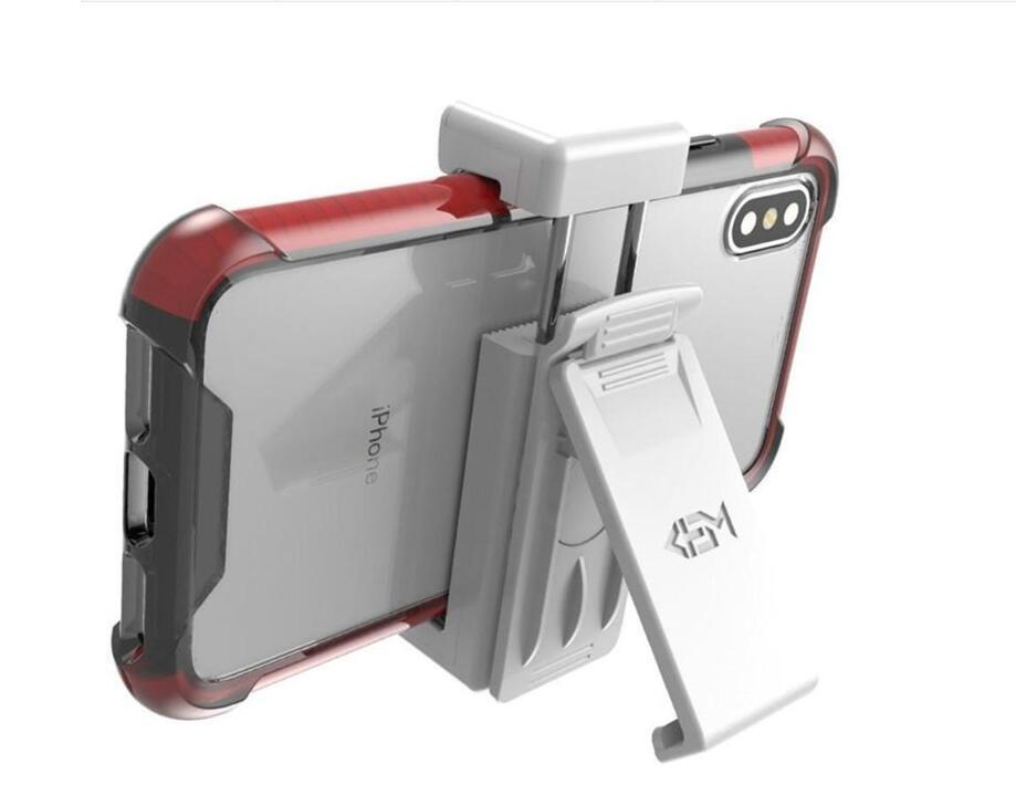 Soporte para teléfono Soporte universal con los clips cinta giratoria Celular pata de cabra para Samsung Nota 9 clip de la correa S8 iPhone XS para los hombres de