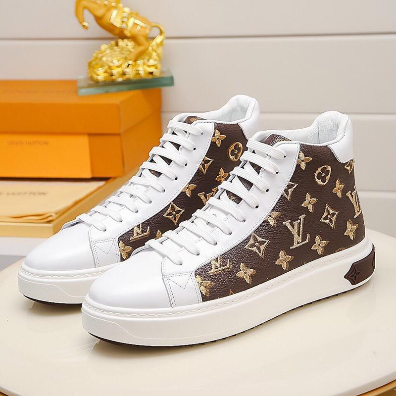 Новые 2020 Мужская обувь дышащая моды платформы Мужская обувь кроссовки платформы с оригинальным Box Классический Flats Высокое качество татуировки Sneaker загрузки