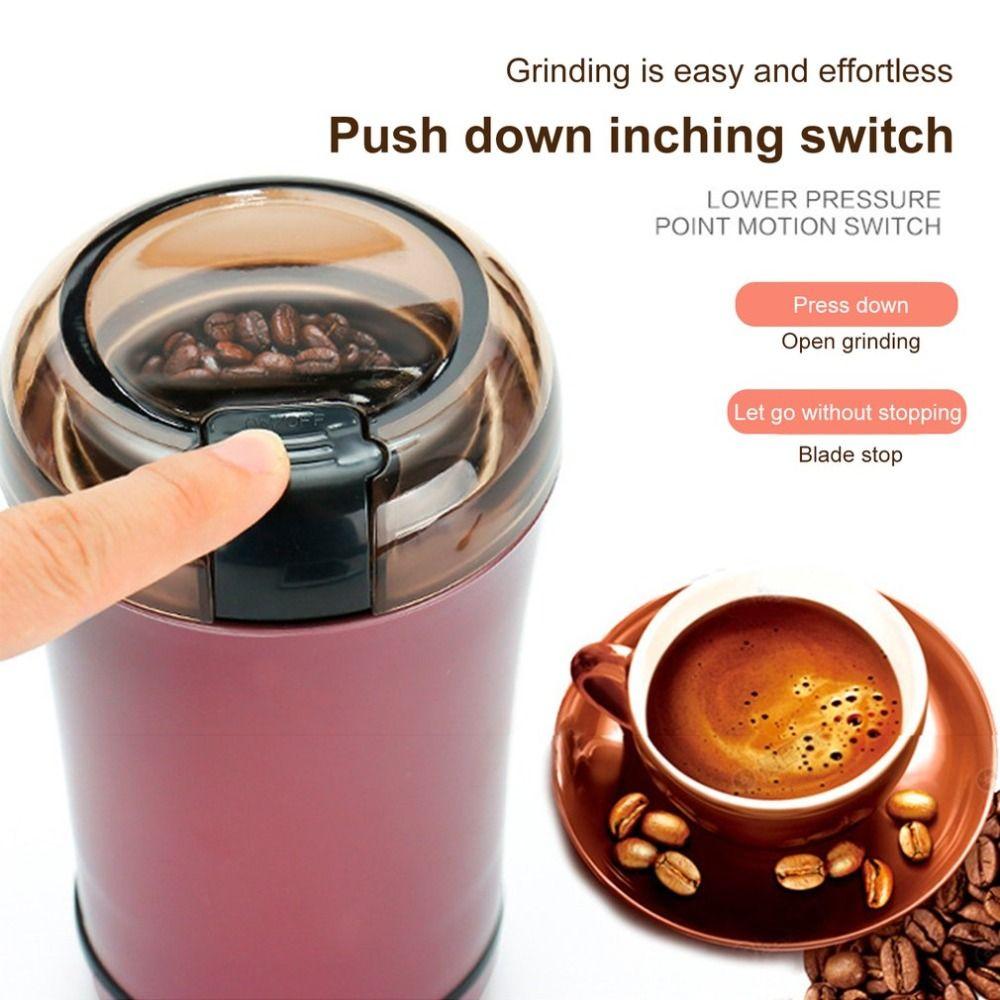 초 고화질 연삭 기계 곡물 밀 분쇄기 가정용 소형 밀 중국어 약초 드라이 밀 전기 스파이스 커피 갈기