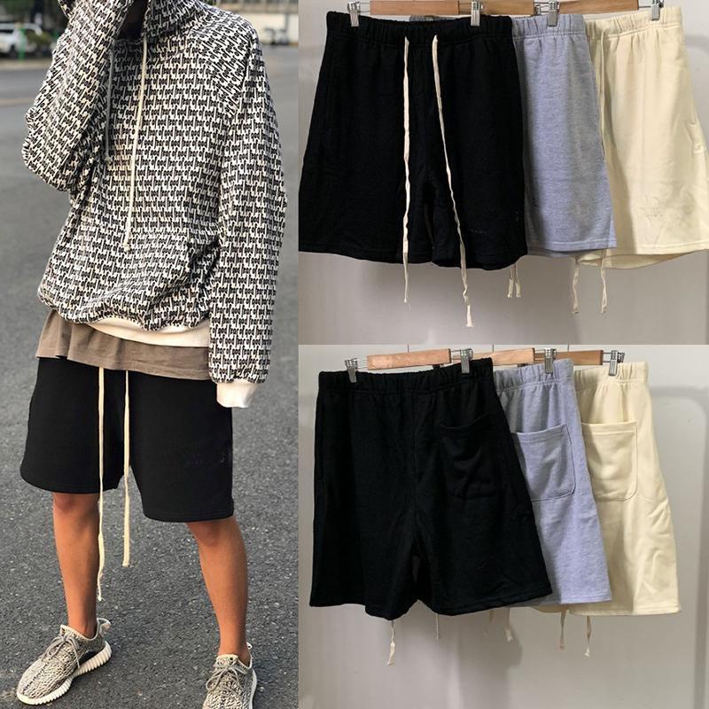 2020 Calças homens Short Mens Moda Casual Calças Essentials Verão Shorts alta qualidade Calções Casual
