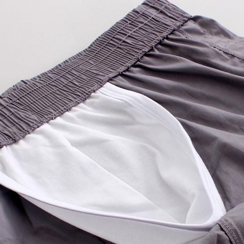 W1kQ4 Hose WJ Netz v0K9a Arro Boxer Baumwolle niedrige Taille Knopf Unterhos der Griff Männer und Unterwäsche Knopf Hosen Haupthosen atmungs sw