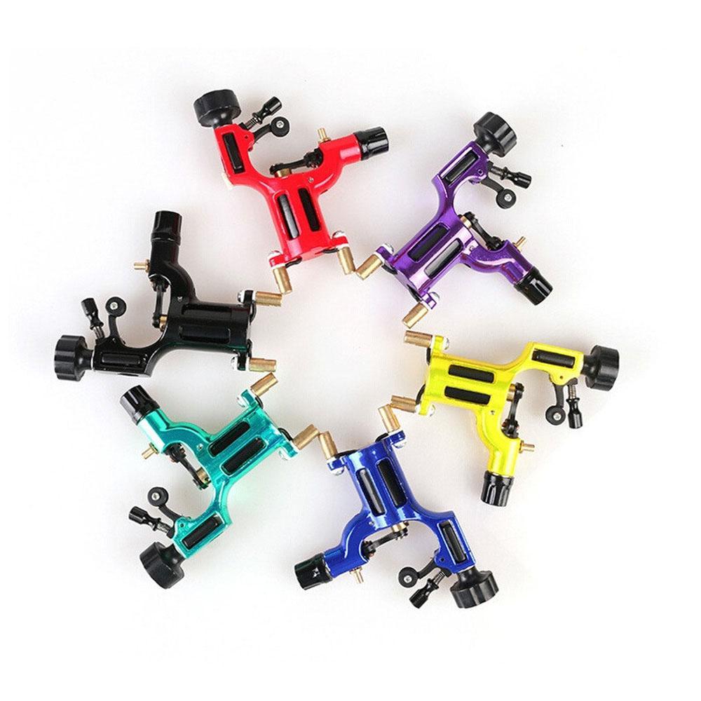 New Dragonfly Rotary Máquina Shader e máquina do tatuagem Liner 6 cores New Motor artista Kit Forro coloridos