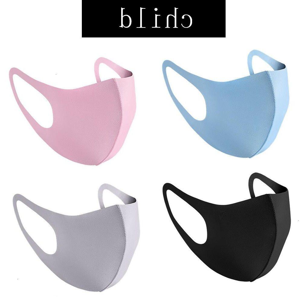 Toz Maskeleri Yeniden Yıkanabilir Çocuk Yetişkin Moda Karşıtı Unisex Kirliliği Yüz Shield Rüzgar Geçirmez Ağız Kapak Chea Maske