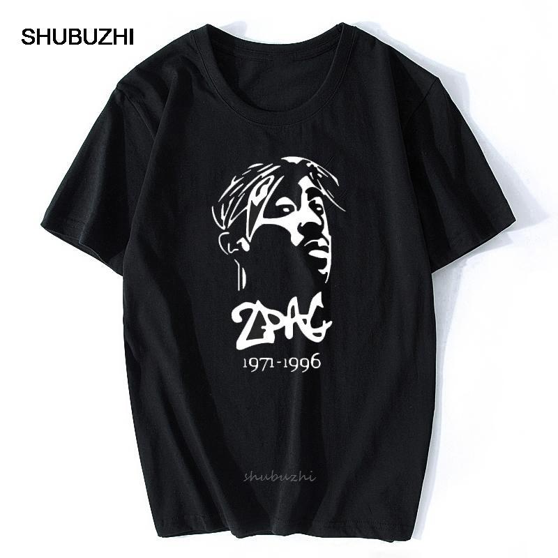Thug Life Tupac de Hip-Hop Rock Hommes cool T-shirt T-shirt à manches courtes Nouveau mode O T-shirt en coton col