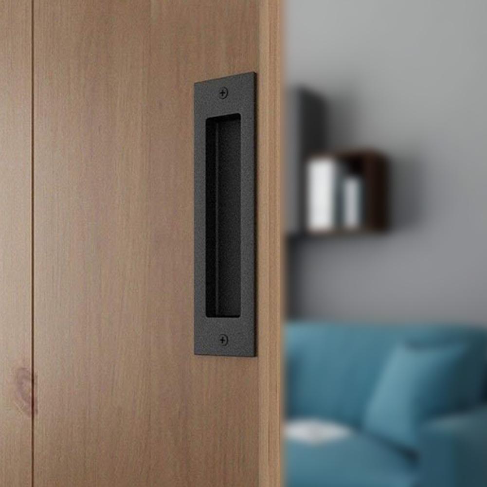 غير قابل للصدأ فنجر تدفق سحب جزءا لا يتجزأ من ساحة مقبض الباب انزلاق الشونة الأجهزة