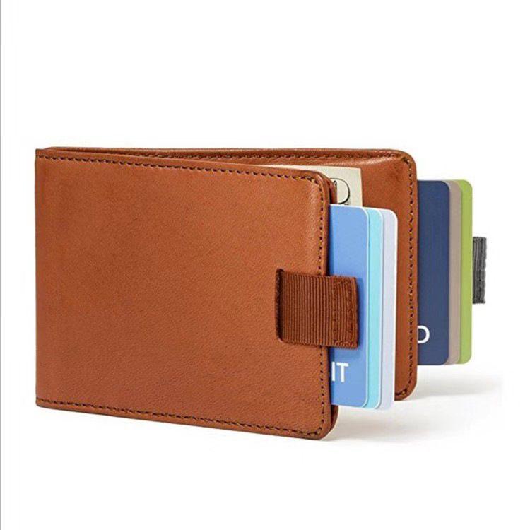 Di vendita caldo della carta di credito del cuoio del supporto di moda Drawable freddo di modo della scheda di memoria