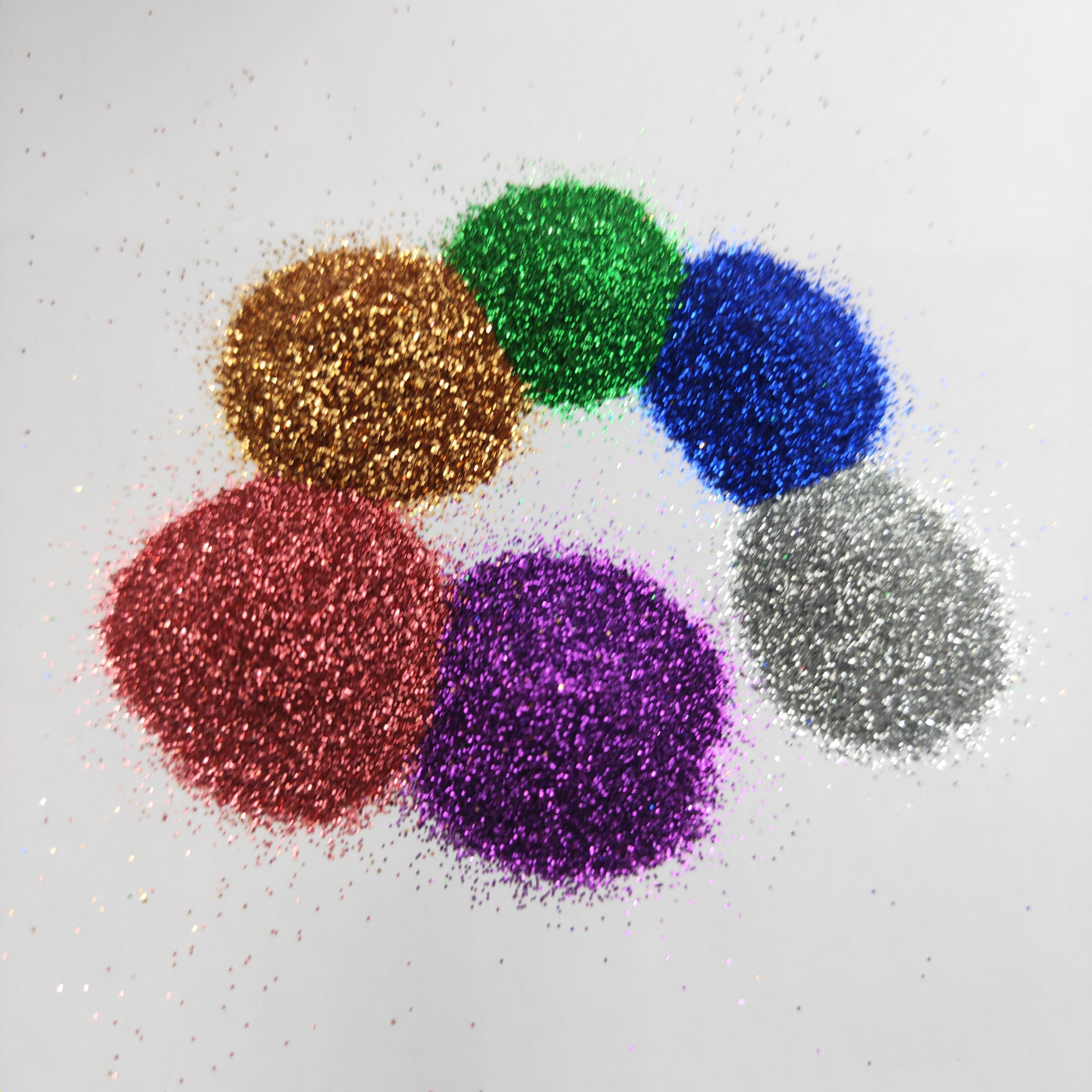 Toplu Yüksek Kalite 1kg parıltı poeces / 100 gram Glitter adet payetler ambalaj parıltılı / 500grams paketi