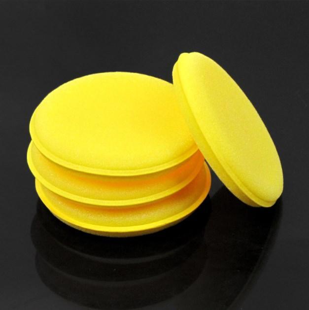 12Pcs Car Accessories Washing Tools Soft Microfiber Car Wax Applicator Pad Polishing Sponge for Apply and Remove Auto Care