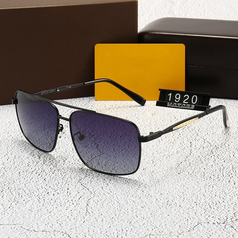 Polarizzatore per uomo Occhiali da sole di alta qualità Anti-ultravioletto Specchio a specchio Sun guida di viaggio Occhiali da sole Accessori per la moda